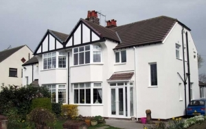 House with External Wall Insulation