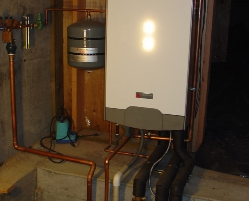 Old style boiler