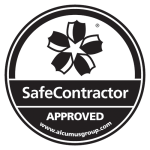 Seal Black SafeContractor Sticker png